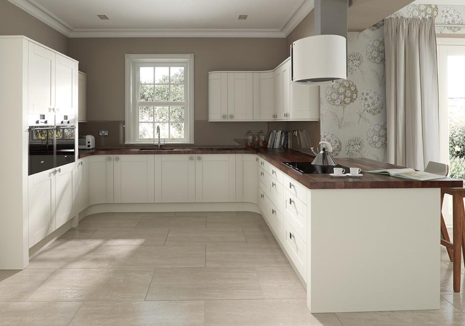 Ivory Kitchen Colour Scheme Design Ideas ~ Shaker ivory oak gunston interiors